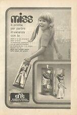 X4976 Miss Bambole EFFE - Pubblicità 1973 - Advertising