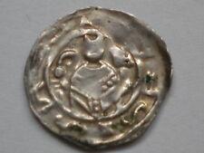 1719. Silver Pfennig denar Friesach 1168-1200 Salzburg