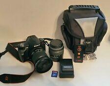 Sony Alpha a230 10.2MP Digital SLR Camera Kit w/ 2 Lenses L@@K