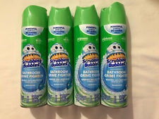 Pack of 4 Scrubbing Bubbles Foaming Bathroom Cleaner 20 Fl Oz Each Rainshower