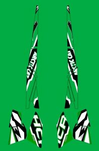 Decals kit for Arctic Cat M 800 HCR 153 snowmobile