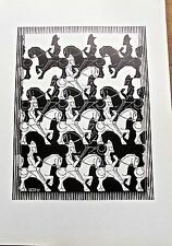 M C Escher Regular Division of the Plane III Poster Reprint 16x11 -8.5X11 image
