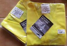 lot 4 gilet jaune fluorescent norme EN471 taille L-XL revendeur brocanteur neuf
