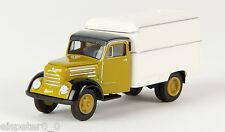 Robur Garant Valigia, verde/bianco, TD, H0 Auto Modello 1:87, Brekina 30715