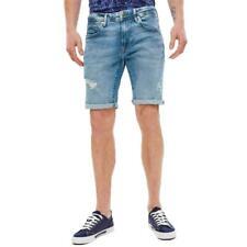 Pepe Jeans Stanley Short Herren Regular-Fit Jeans Shorts Bermuda Kurze Hose