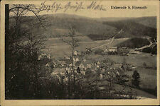 Unkerode bei Eisenach Thüringen 1915 Panorama Dorfansicht Verlag Roth gelaufen