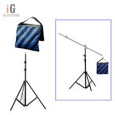 Light Stand 195cm/ W803 Photo Video Studio Lighting + Sand Bag (blue)