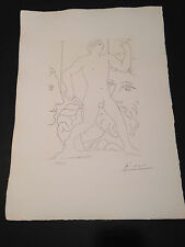 """Picasso """"Suite Vollard"""" Bloch #179, Limited Edition, Picasso Family Authorized."""