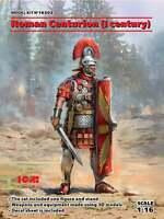 ICM 16302 -1/16 Roman Centurion (I century) scale plastic model kit new figure