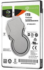 """Seagate ST1000LX015 1TB w/8GB NAND FireCuda 2.5"""" SATA3 5400RPM Laptop SSHD"""