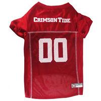 Alabama Crimson Tide NCAA Pets First Licensed Dog Pet Mesh Jersey XS-2XL NWT