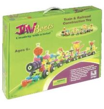 New In Box, Jawbones Train and Railroad Construction Toy Building Set List $75