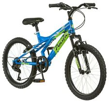 NEW Pacific Evolution 20-inch Boys Steel Frame Mountain Bike-Blue