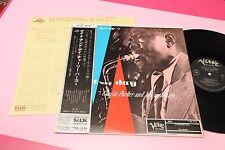 CHARLIE PARKER LP GENIUS VOL 1 JAPAN EX OBI E INSERTO