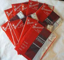 "10 Pairs Vintage-New Stockings Nylons Size 9 Medium ""Paris Black"" Seamless Rt"