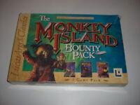 THE MONKEY ISLAND BOUNTY PACK Pc Cd Rom Original Large BIG BOX Version
