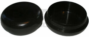 Patio Foot Glide For Wrought Iron Furniture Plastic Black Deluxe 1-1/2  1.5 Inch