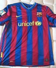 NIKE FC BARCELONA HOME '09-'10 JERSEY (STORMBLUE/STORMRED/YELLOW)