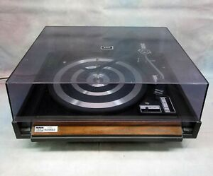BSR McDonald 250S Stereo Turntable Record Changer Player Serviced WORKS!