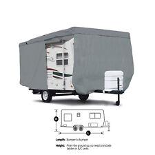 Deluxe Casita Patriot 13' Camper Travel Trailer Cover w/ Zipper Access