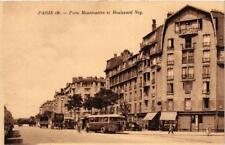CPA PARIS (18e) Porte Montmartre et Boulevard Ney (563627)