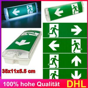 LED Notleuchte Fluchtwegleuchte Notbeleuchtung Notausgang Exit Notlicht Akku ASE