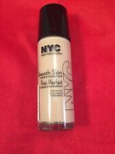 Lot of 2 NYC. Smooth Skin Liquid Foundation 681 Natural Beige~COMBINED SHIPPING~