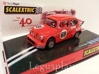 Slot SCX Scalextric Fiat 600 Abarth 40 aniversario 1962 - 2002