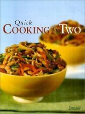 Sunset Quick Cooking for Two by Oxmoor House Staff (2000, Paperback)