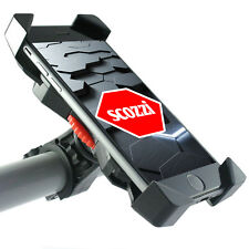 scozzi 360° Fahrrad Halter für Apple iPhone 8 X 7 6 6S 5 4 S SE Plus Lenker Rad