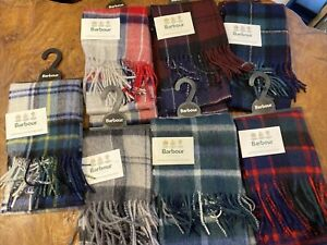 BNWT Barbour Scarf Lambswool & Cashmere