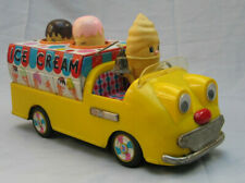 Battery Operated Ice Cream Truck - Made in Japan by Bandai