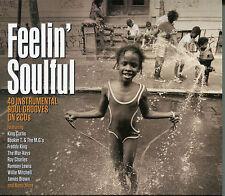 FEELIN' SOULFUL - 2 CD BOX SET - KING CURTIS, RAY CHARLES & MORE