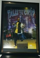SNOOP DOGG - HAND SIGNED LARGE 11X14  PHOTO - WITH COA FRAMED ORIGINAL AUTOGRAPH
