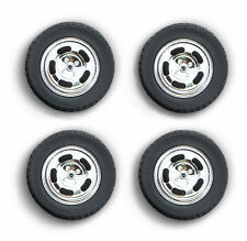 WHEELS & TIRE SET 1978 FORD MUSTANG II COBRA FIVE SLOT 1/18 BY GREENLIGHT 12941