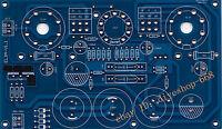 Single tube EL34 or KT88 power amplifier stereo PCB circuit board DIY AUDIO 1PCS