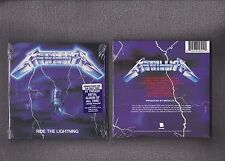 CD METALLICA Ride The Lightning 1984 Blackend label in album style gate fold NEW