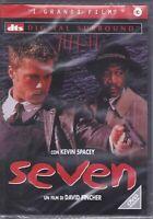 Dvd SEVEN con Brad Pitt Morgan Freeman nuovo 1995