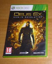 Jeu XBOX 360 - Deus EX human revolution