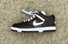 SUPREME x NIKE SB Air Force 2 LOW Size 10 Baroque Brown White AA0871 212 AF2