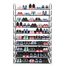 Schuhregal 10 Ebenen Schuhständer Schuhablage Stecksystem Schuhschrank Design DE