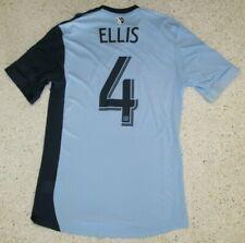 Kevin Ellis 2013 Sporting Kansas City adidas Formotion Home Blue Jersey Men M
