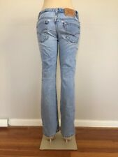 vtg 90s Levi's 505 Light Wash Mom Jeans size 26x31 High Waisted made in usa 3600
