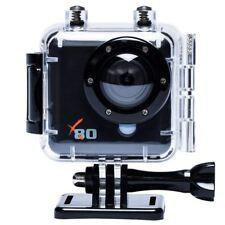 Kaiser Baas X80 Action HD Camera Camcorder Bike Helmet Video Recorder Waterproof