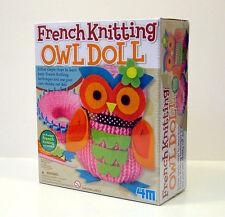 4M FRENCH KNITTING OWL DOLL GUFO DI MAGLIA 02764.4M + 8 ANNI