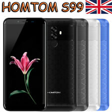HOMTOM S99 64GB 6200mAh 4G 5.5'' Face ID 21MP 18:9 8Core Smartphone Mobile Phone