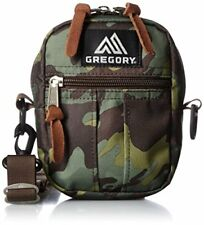 New GREGORY Quick Pocket S Shoulder Bag DEEP FOREST CAMO Green Camoflage Outdoor