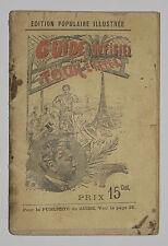 GUIDE OFFICIEL DE LA TOUR EIFFEL 1895 - EDITION POPULAIRE ILLUSTREE