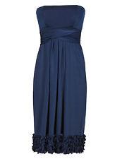 M&S COLLECTION Laser Cut Multiway Bridesmaid Skater Dress Size UK16/EUR44