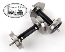 PIKO 36167 G SCALE 30mm Ball Bearing Metal Power Pickup Wheels + Free 4 conn pkg